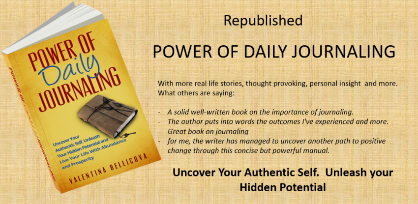 Power of Daily Journaling – My First eBook Republished